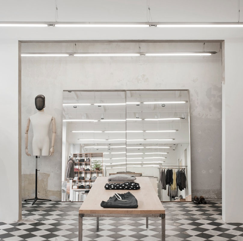 Beautiful Fashion Retail Interiors by Arrhov Frick // Sweden.