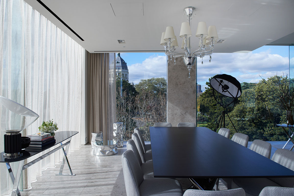 The Garden House Penthouse in Melbourne by Piccolo Architecture   Yellowtrace