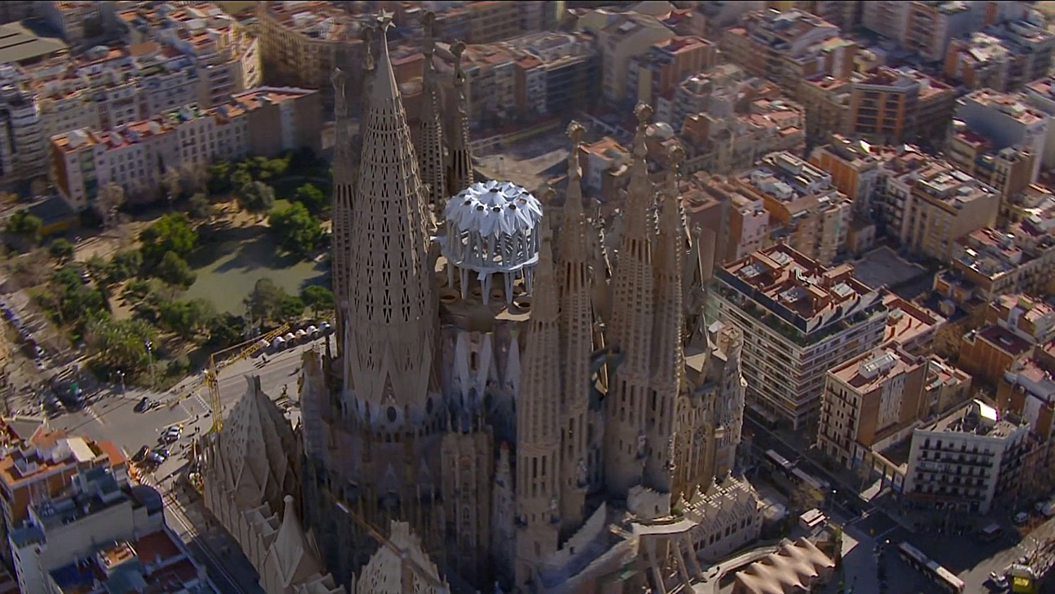 Render of Sagrada Familia, Barcelona | Yellowtrace