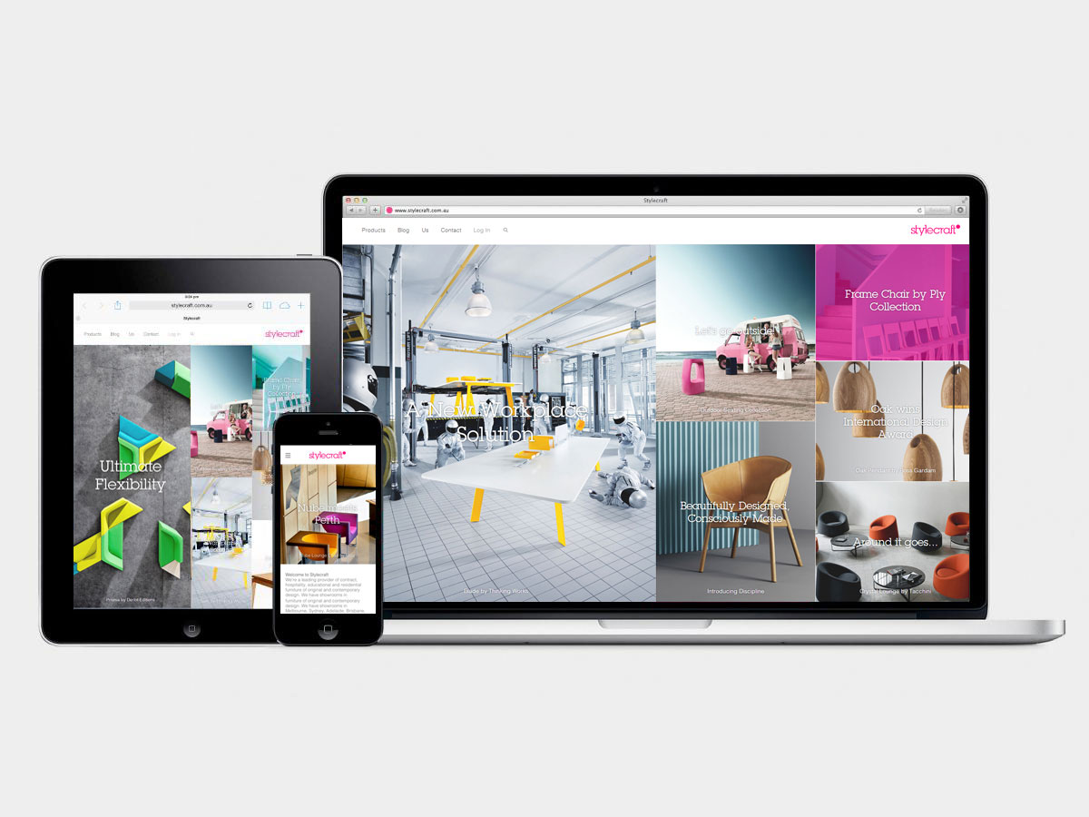 Stylecraft New Website | Yellowtrace