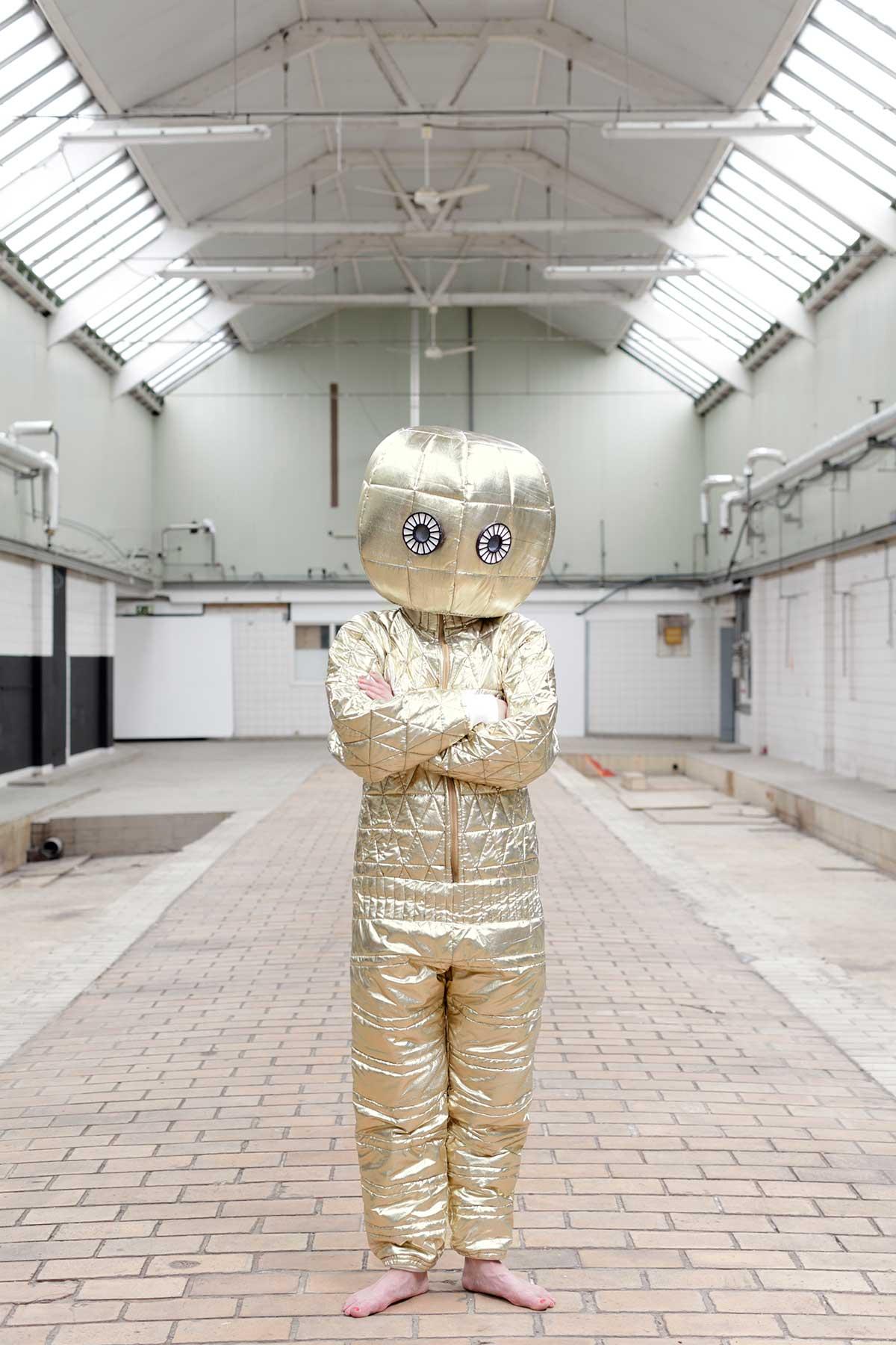 The Stranger, The Second Self Laboratory Jan Pieter Kaptein   Yellowtrace