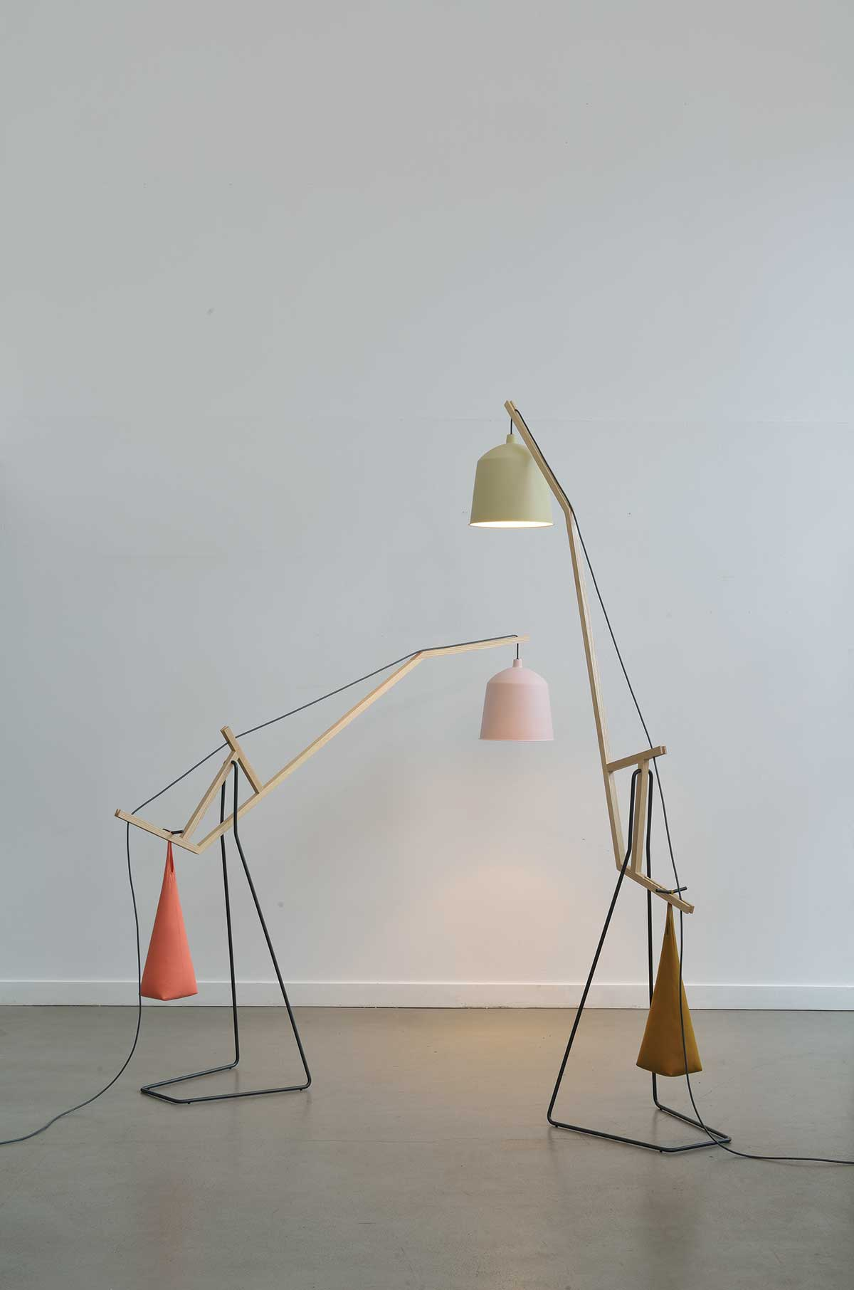 A Floor Lamp by Aust Amelung | Yellowtrace.