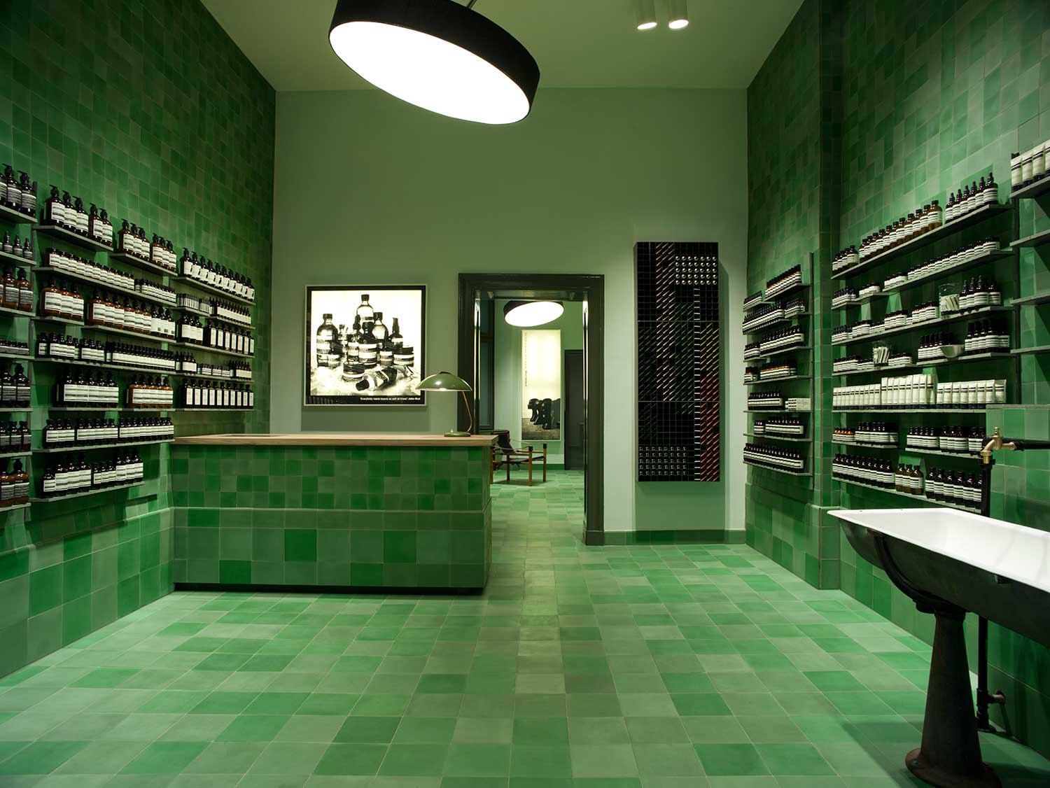aesop berlin store by weiss heiten yellowtrace. Black Bedroom Furniture Sets. Home Design Ideas