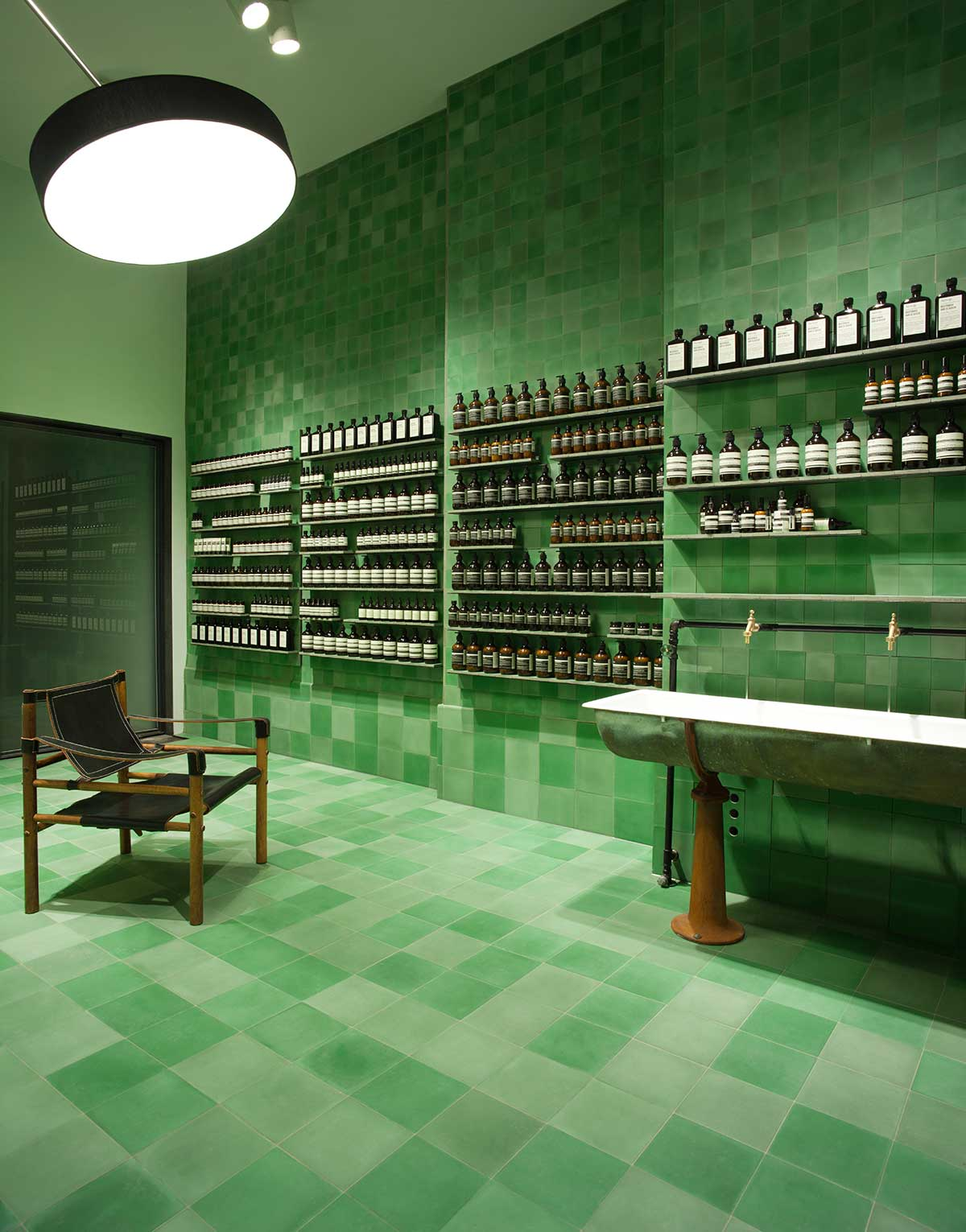 The Inaugural Aesop Berlin Store by Weiss—heiten.