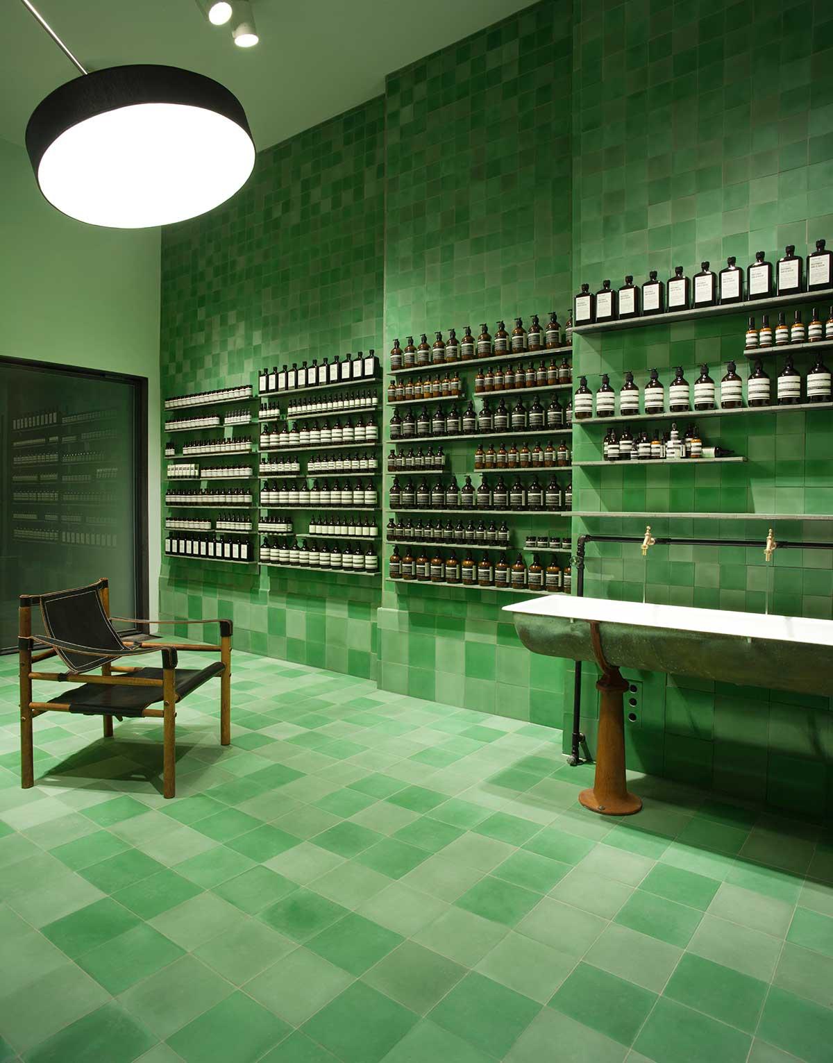 Aesop Berlin Store By Weiss Heiten Yellowtrace
