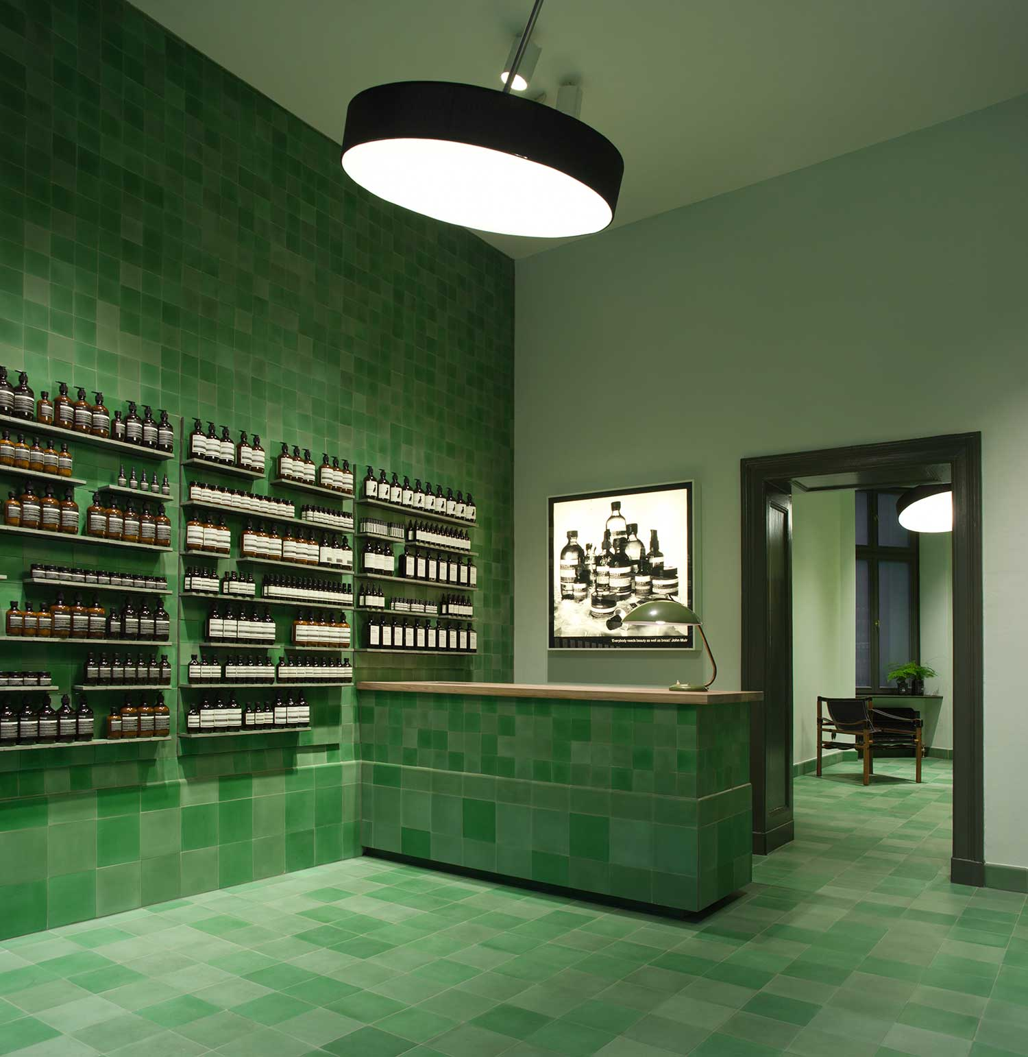 Shop Berlin aesop berlin store by weiss heiten yellowtrace