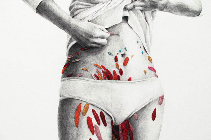 Ana Teresa Barboza Embroidery Art | Yellowtrace