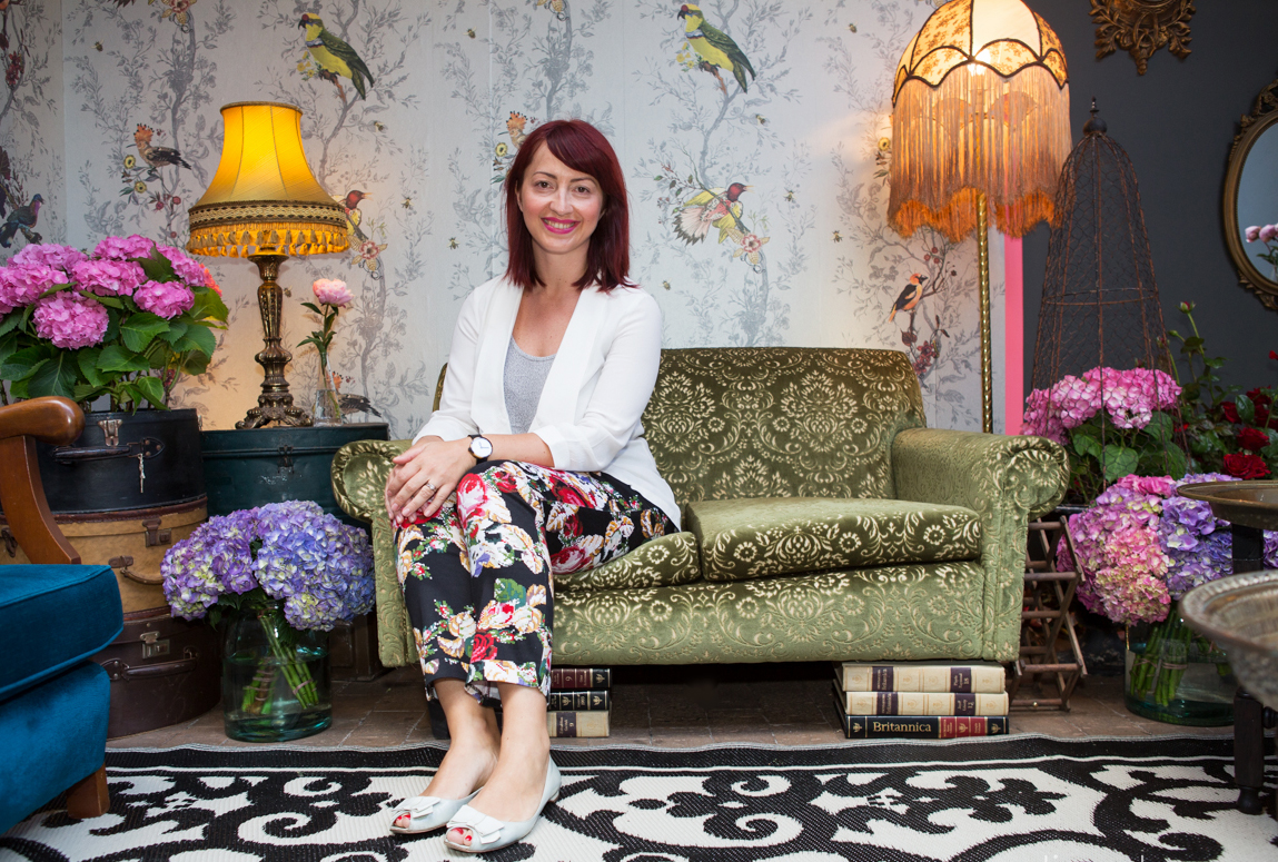 Dana Tomic Hughes, Yellowtrace Creative Director at Gumtree Garden Pop-Up Bar, Sydney