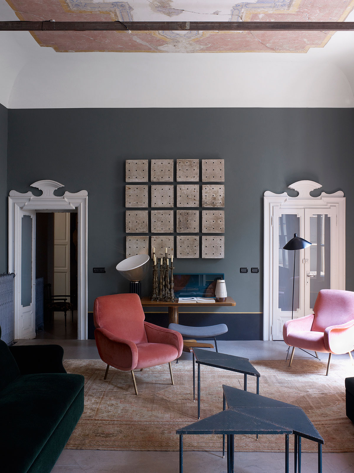 Milan apartment by Dimore Studio. Photo by Henry Bourne | Yellowtrace