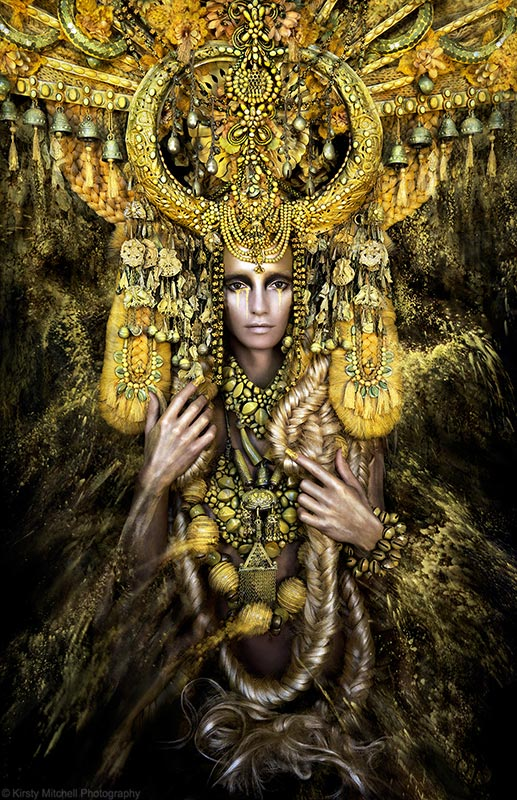 Video // 'Gaia, The Birth of An End' by Kirsty Mitchell.