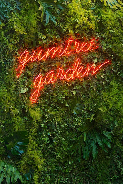 Gumtree Garden Pop-Up Bar by Yellowtrace.