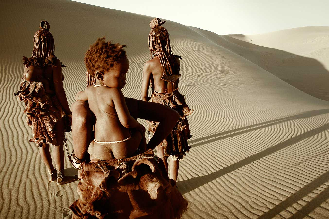 Himba Tribe, Namibia. Photo by Jimmy Nelson | Yellowtrace