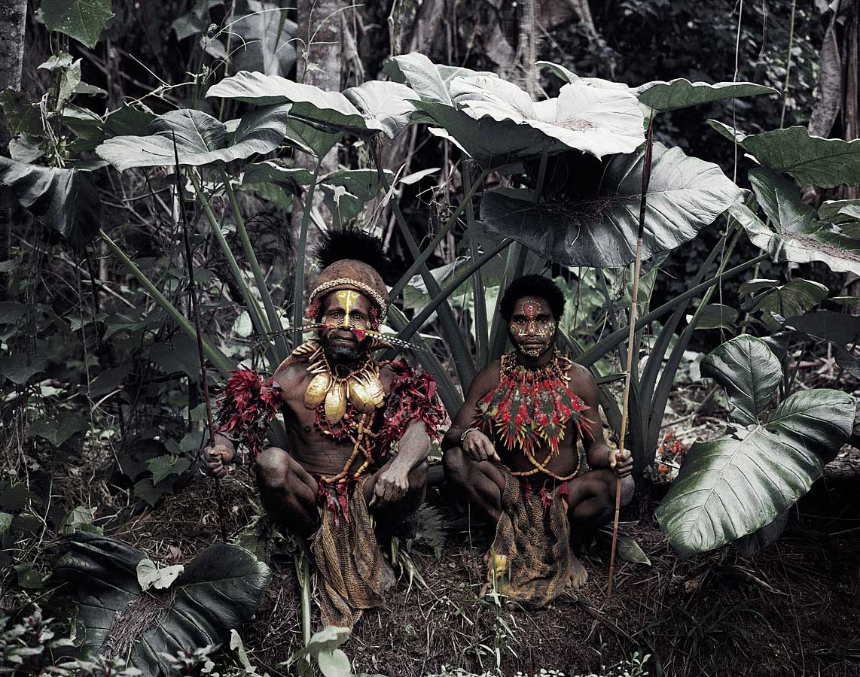 Kalam Tribe, Papua New Guinea. Photo by Jimmy Nelson | Yellowtrace