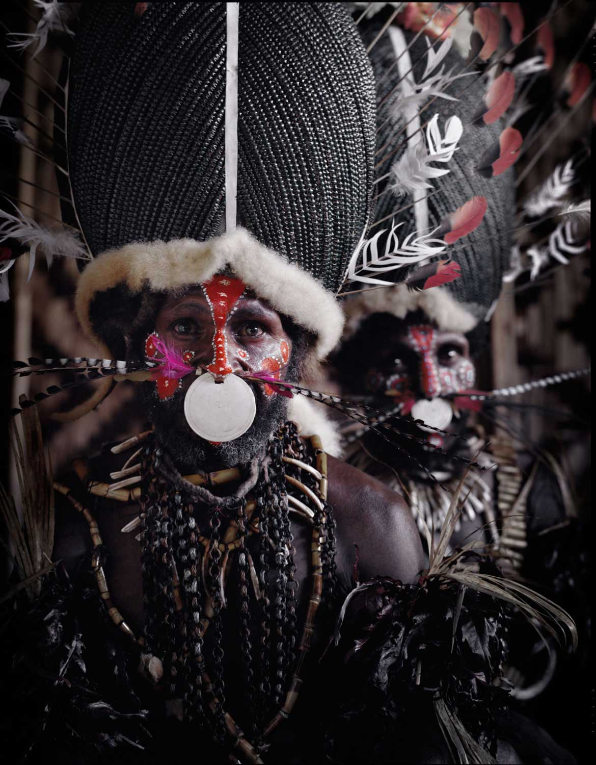 Kalam Tribe, Papua New Guinea. Photo by J Nelson | Yellowtrace
