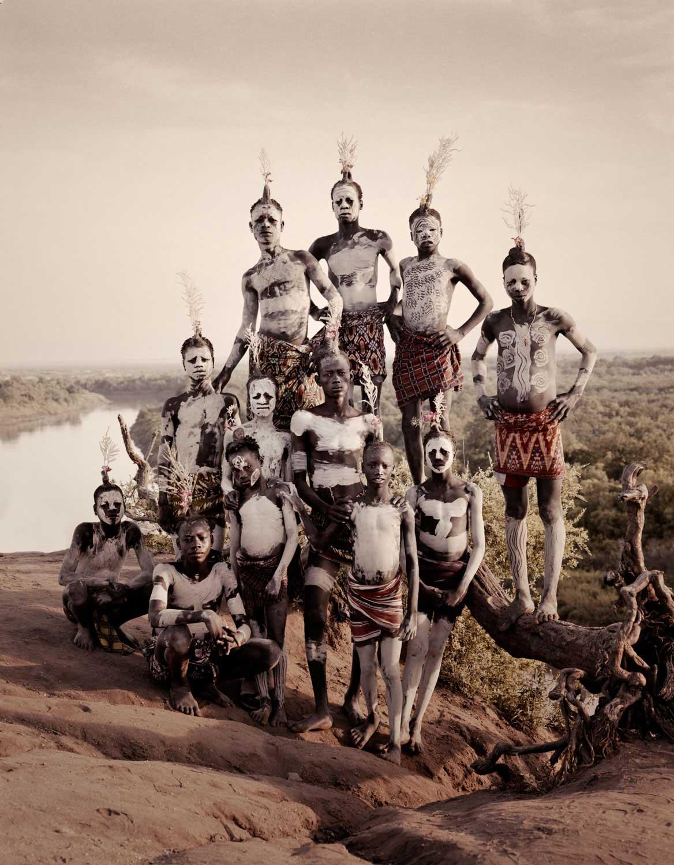 Karo Tribe, Ethiopia. Photo by Jimmy Nelson | Yellowtrace