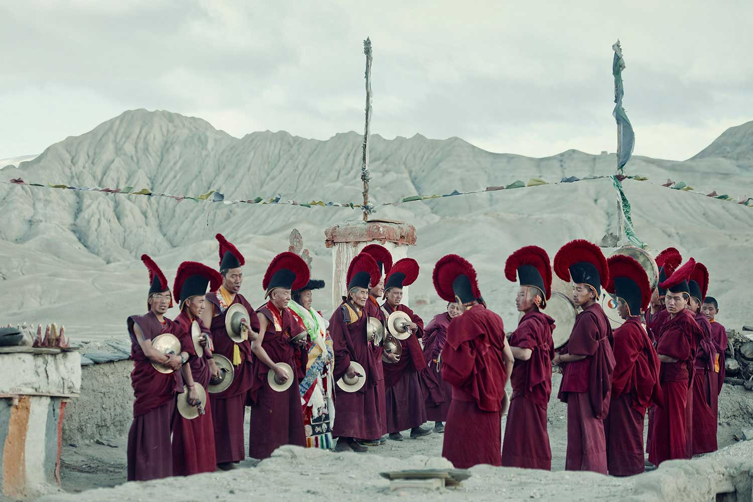 Mustang Tribe, Nepal. Photo by Jimmy Nelson | Yellowtrace