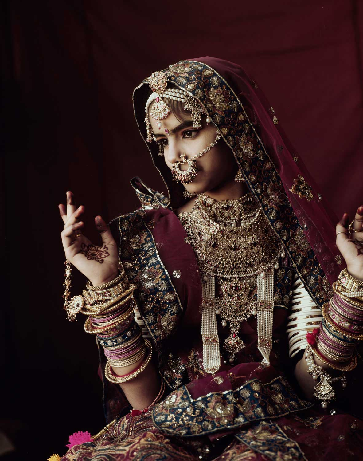 Rabari Tribe, Rajastan, India. Photo by Jimmy Nelson | Yellowtrace