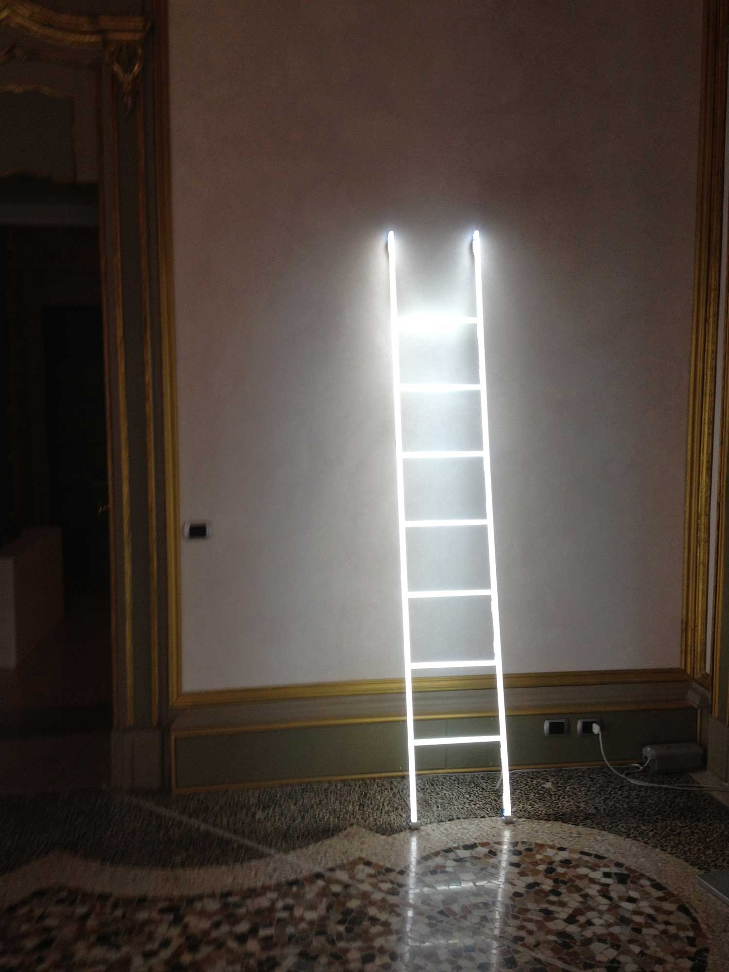 Neon Light Installations by Massimo Uberti | Yellowtrace