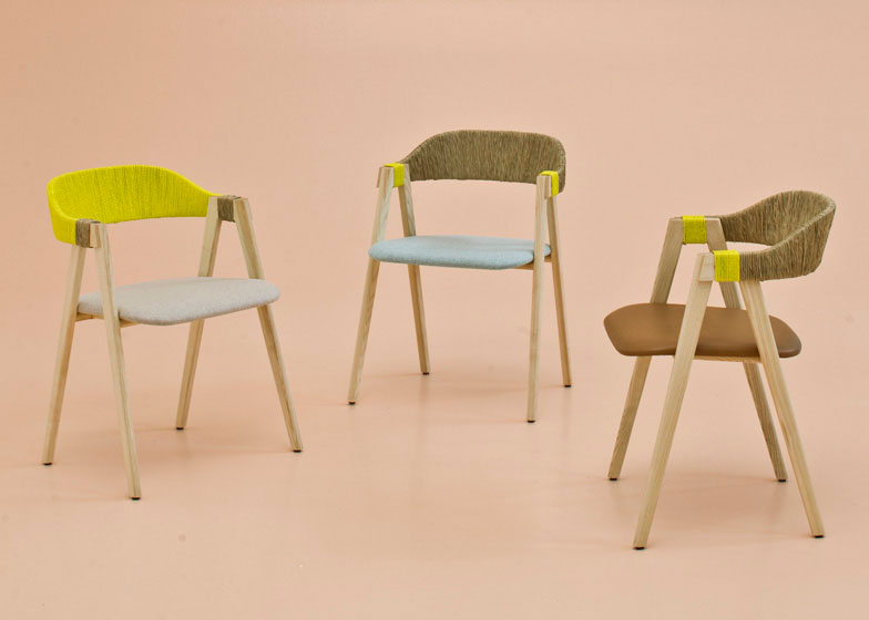Mathilda Chair by Patricia Urquiola for Moroso | Yellowtrace