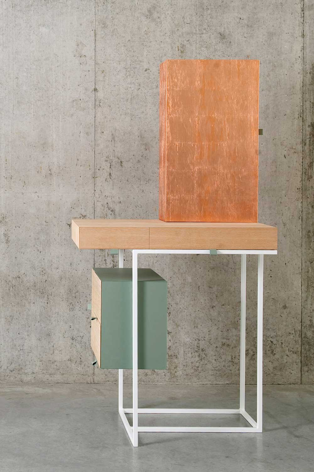 Tabeau Dressing Table by Nicole Brock | Yellowtrace.