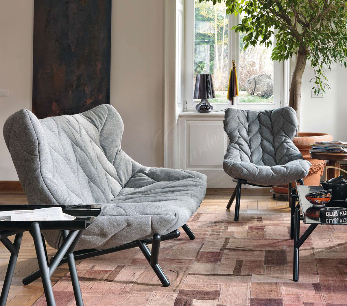 Foliage Sofa & Chair by Patricia Urquiola for Kartell | Yellowtrace