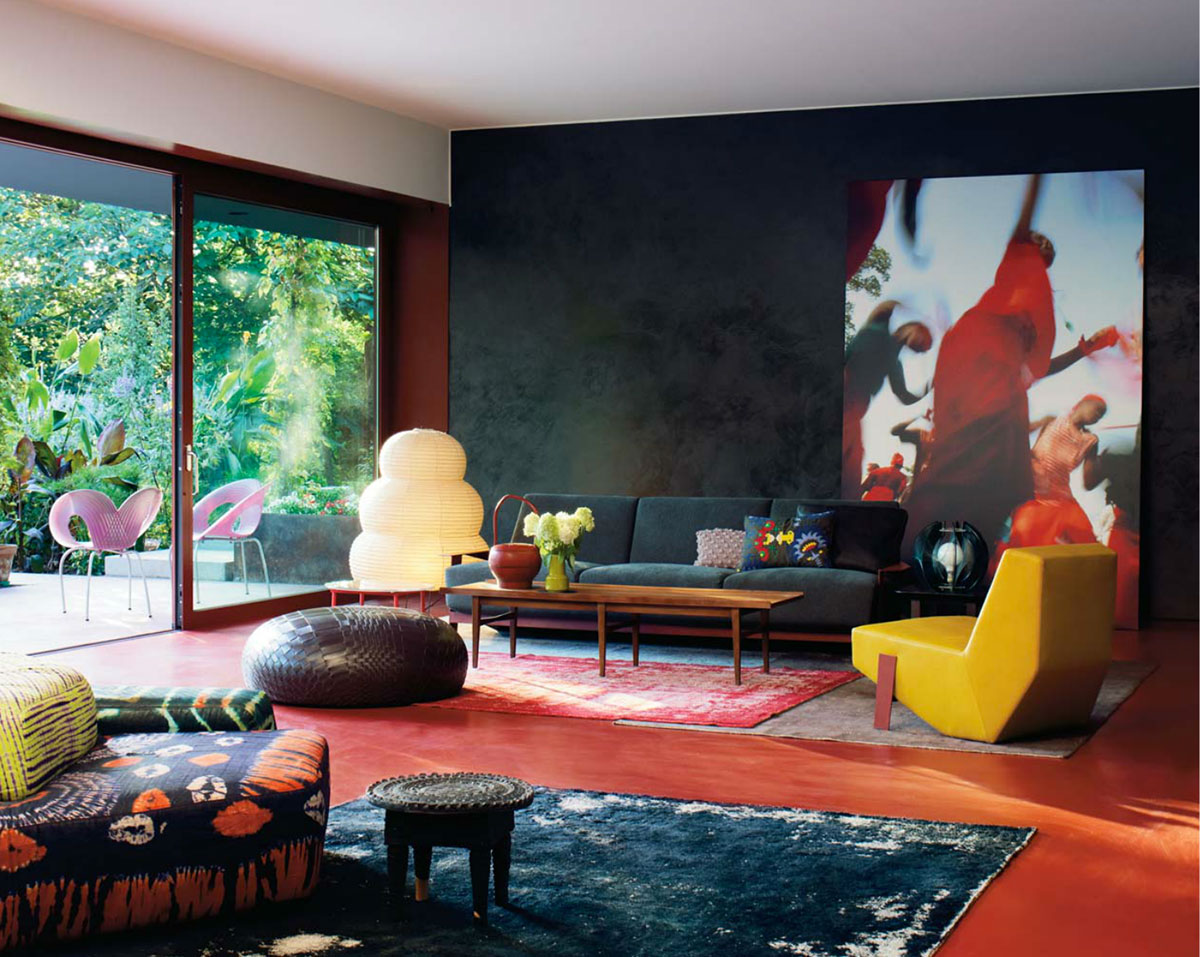 Patrizia Moroso's House, designed by Patricia Urquiola Yellowtrace