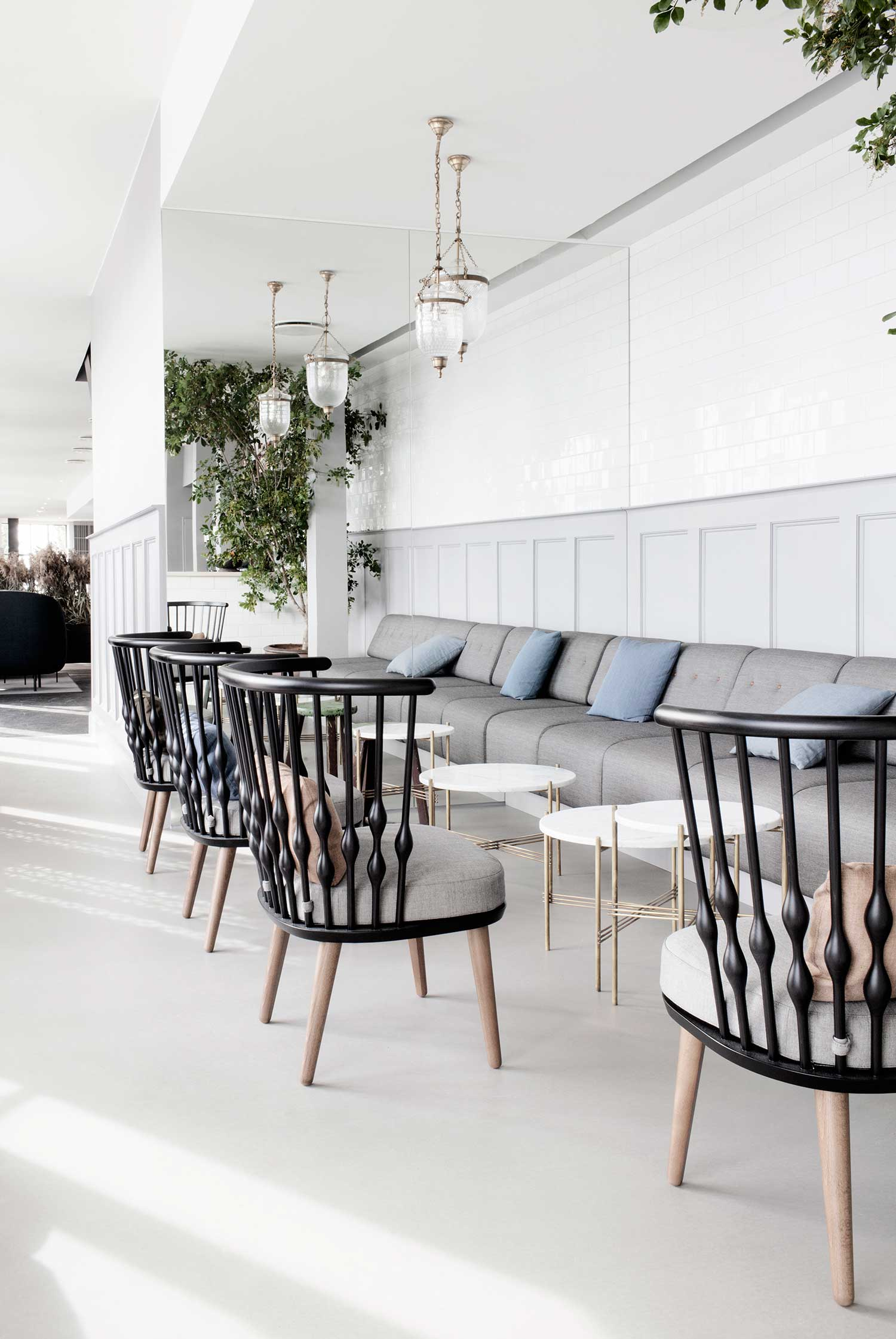 Restaurant Restaurant in Copenhagen by the design of GamFratesi The Standard Copenhagen by GamFratesi Yellowtrace 10