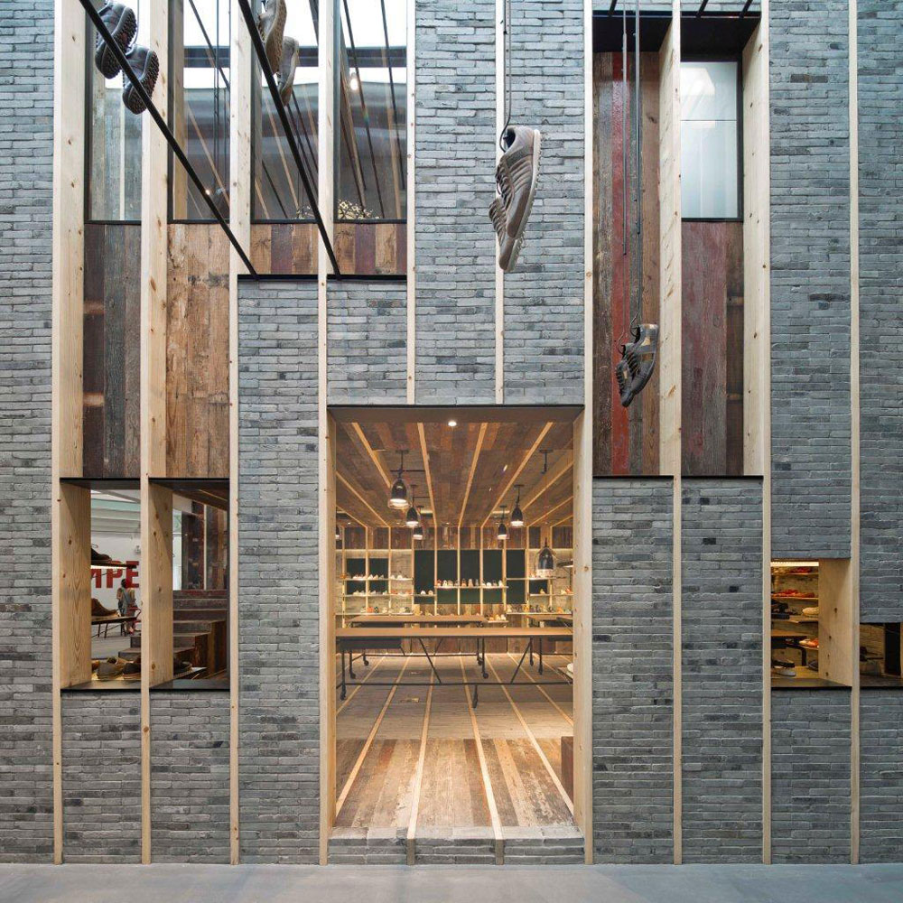Neri hu design camper shanghai flagship showroom R house architecture research office