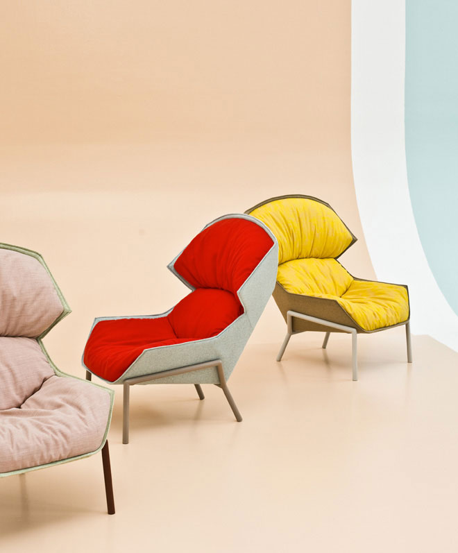 Clarissa Armchair by Patricia Urquiola for Moroso | Yellowtrace