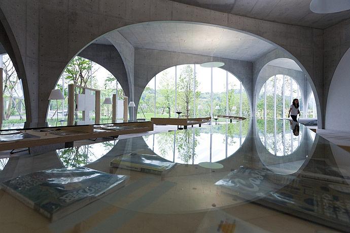 Tama Art University Library by Toyo Ito   Yellowtrace
