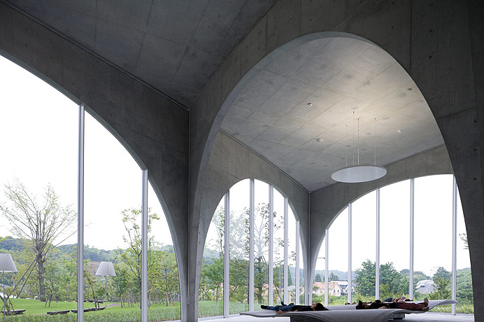 Tama Art University Library by Toyo Ito  |  Yellowtrace