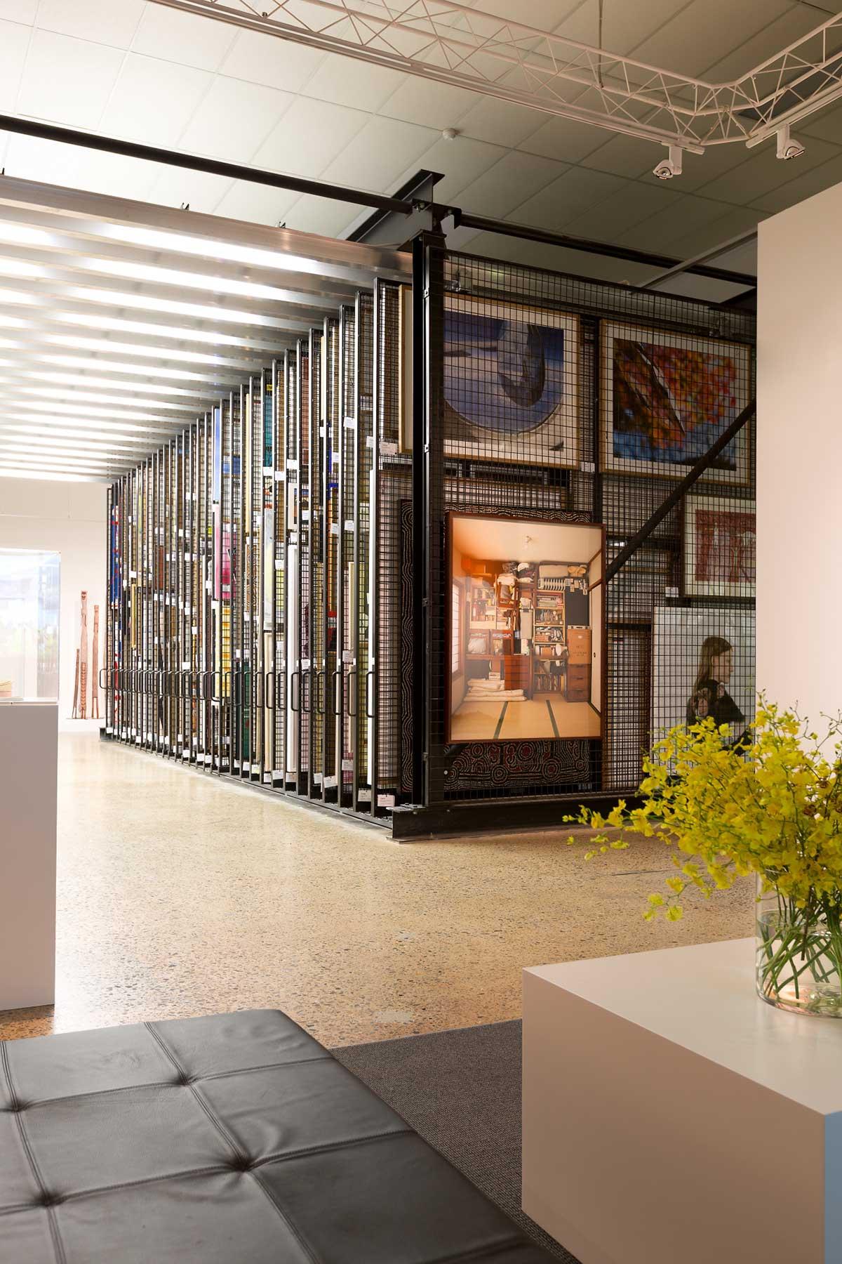 Artbank Sydney Showroom   Yellowtrace