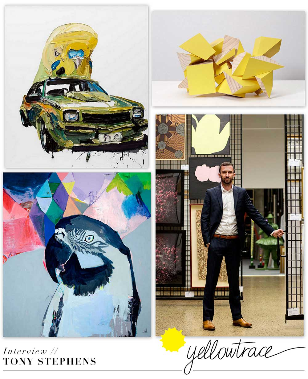 Interview with Tony Stephens of Artbank | Yellowtrace