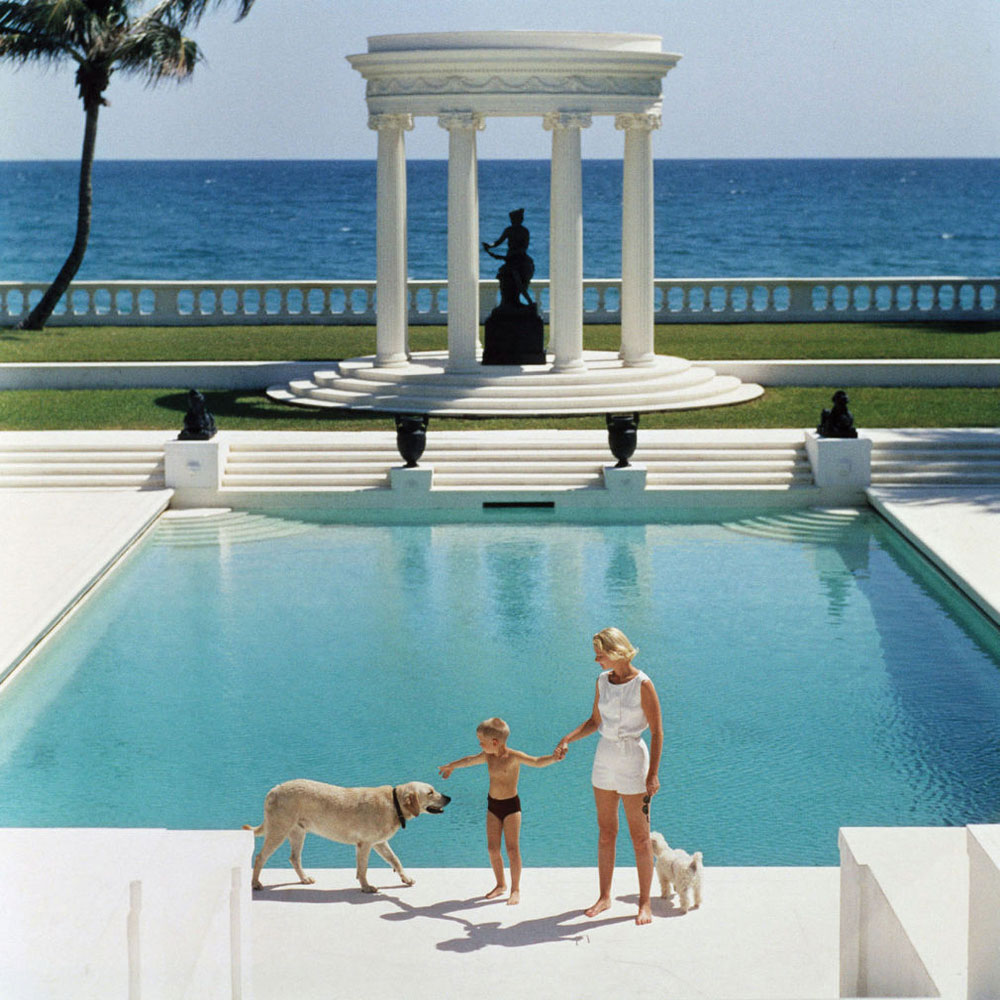 Happy holidays from yellowtrace slim aarons for Pool time pools