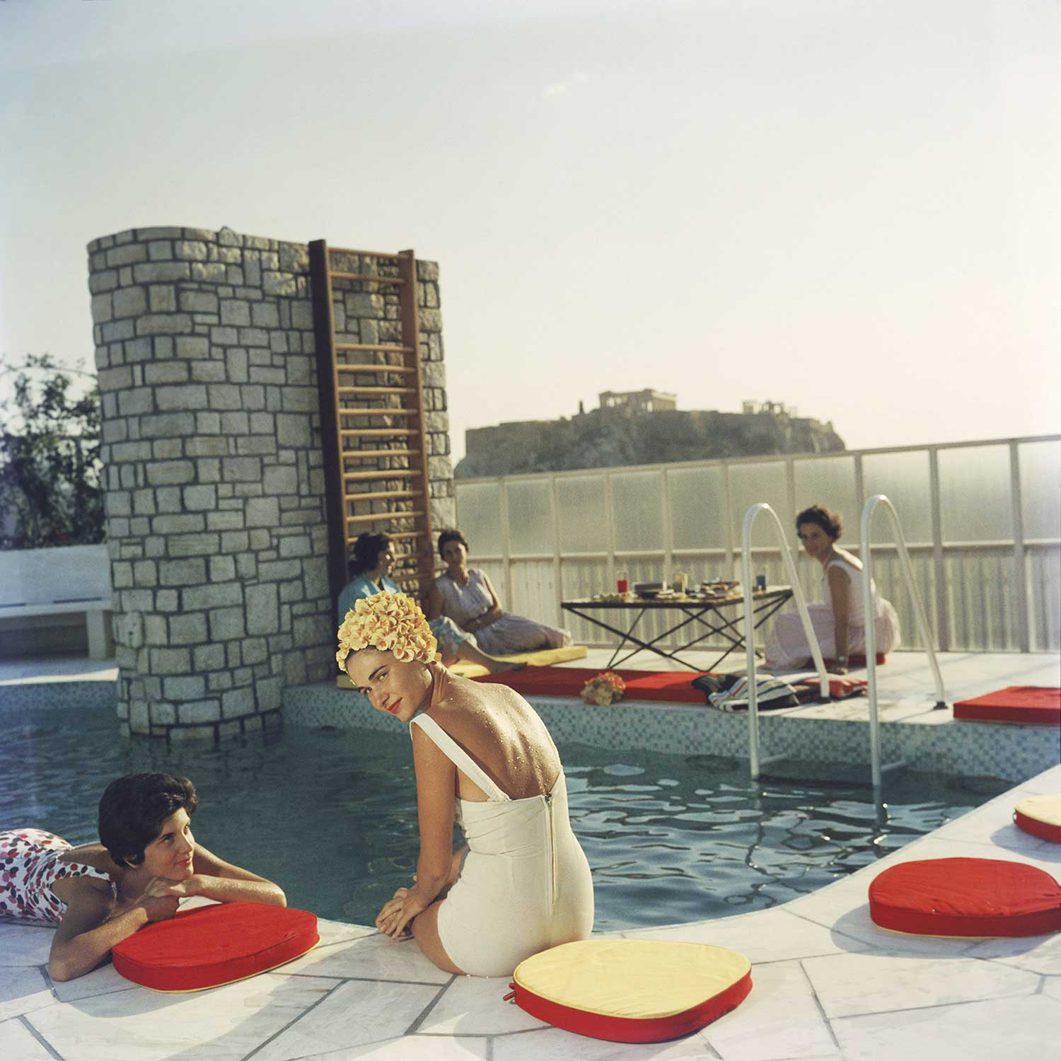 Penthouse Pool, Photo by Slim Aarons | Yellowtrace