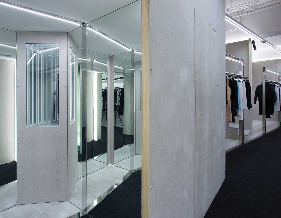 Site 01: Dion Lee's First Standalone Retail Concept by Akin Creative | Yellowtrace