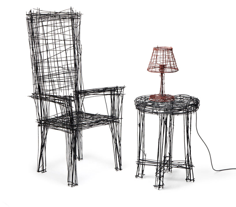 Drawing Chair by Jin Il Park IMM Cologne   Yellowtrace