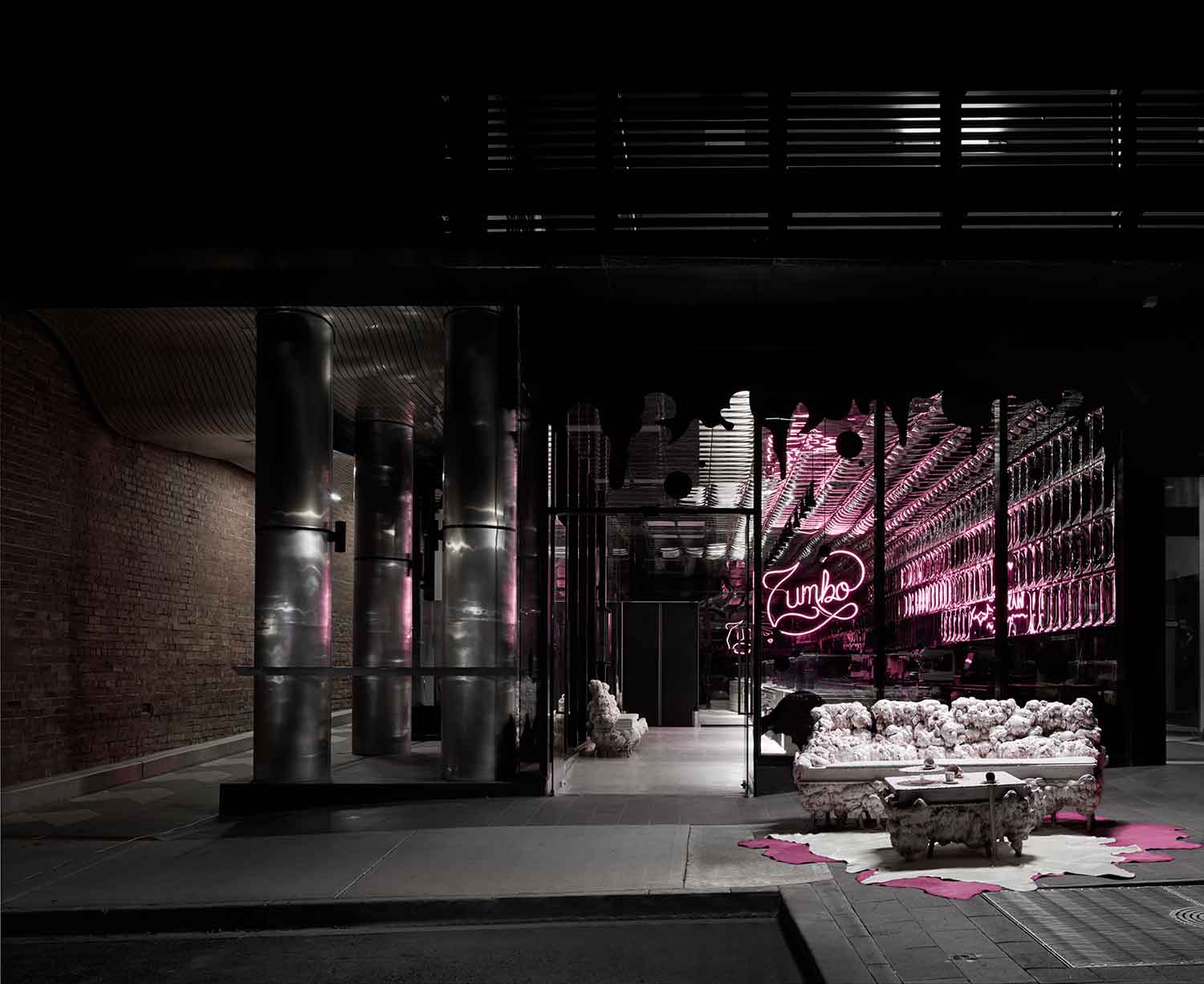 Zumbo Cafe Melbourne by Elenberg Fraser | Yellowtrace