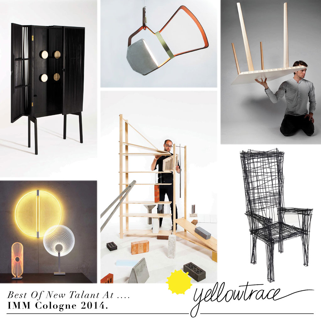 Top 10 Products by Young Designers at IMM Cologne 2014.