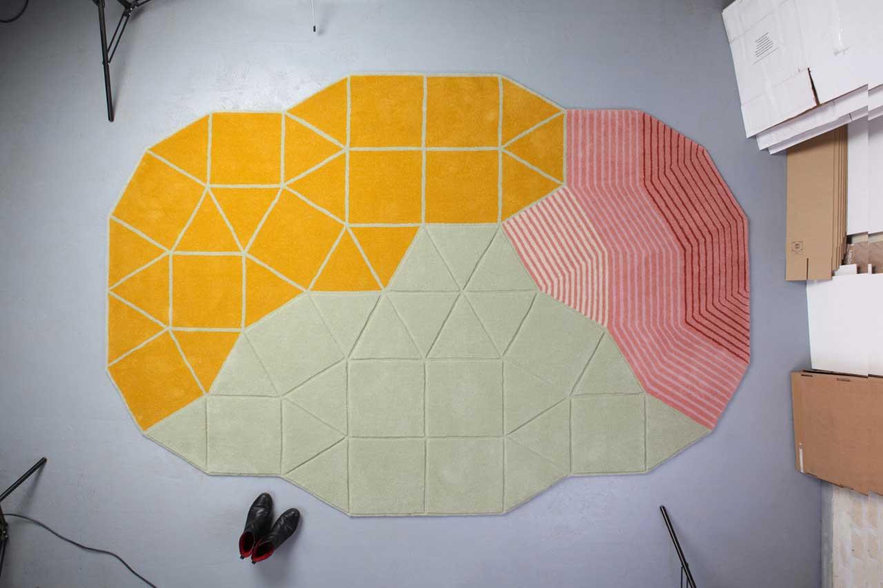 Isla Carpet by Studio Joa Herrenknecht IMM Cologne   Yellowtrace