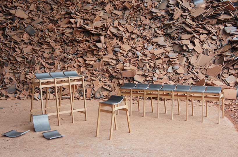 Kawar Bench by Tusyoshi Hayashi IMM Cologne   Yellowtrace