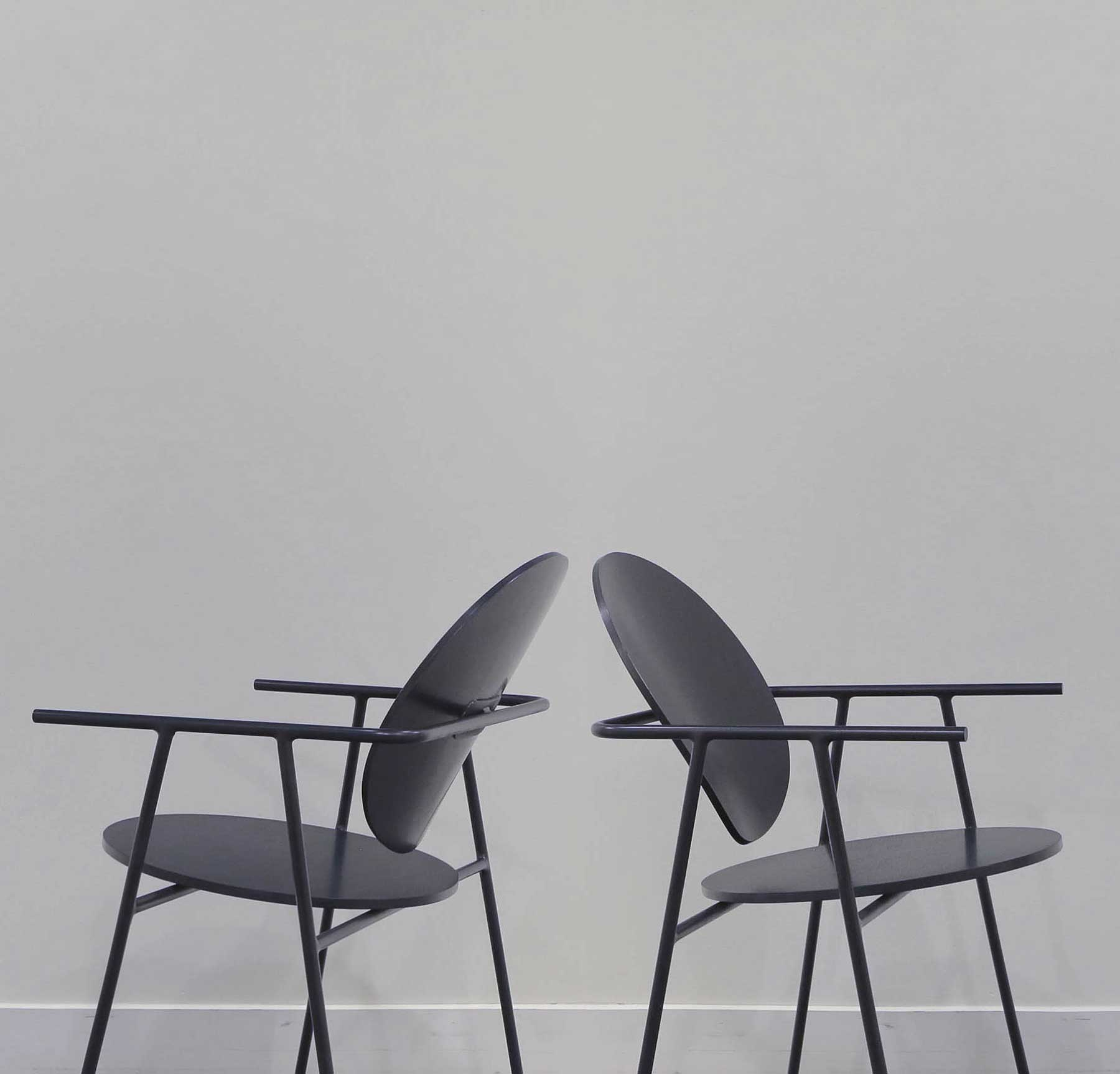 Two Circles Chair by Kebei Li | Yellowtrace