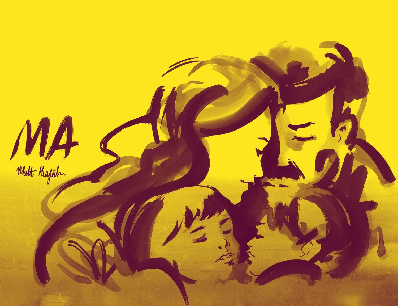 'MA' Comic Book Launch byMatt Huynh   Yellowtrace