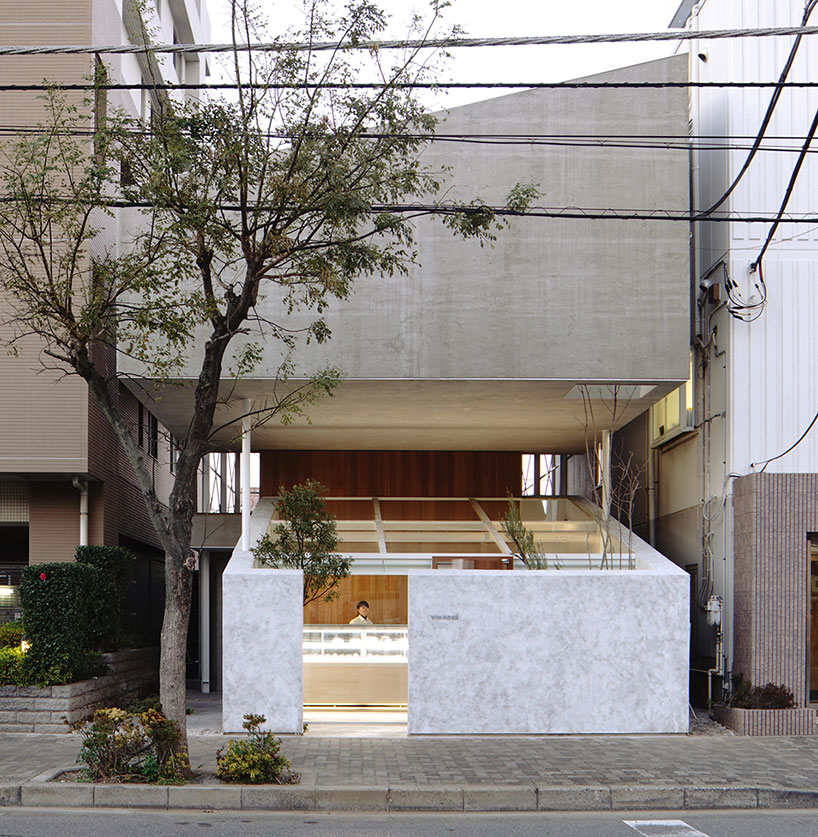 House Built Over a Pastry Shop by Yuko Nagayama & Associates // Chiba, Japan.