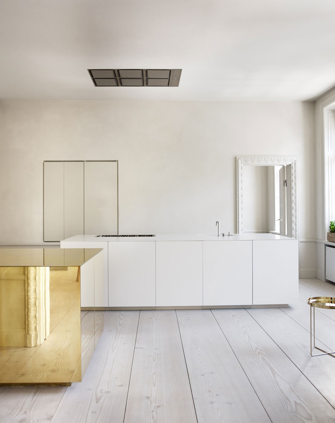 Stockholm Apartment With Brass Cube by Claesson Koivisto Rune | Yellowtrace