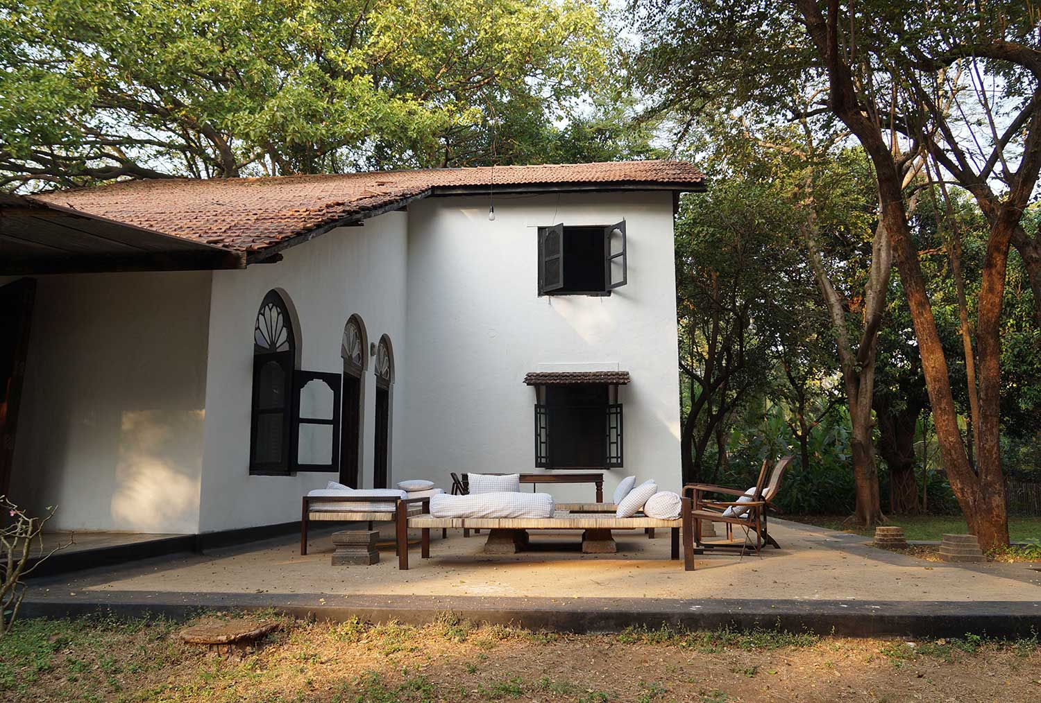 Where Architects Live - Bijoy Jain/ Studio Mumbai | Yellowtrace
