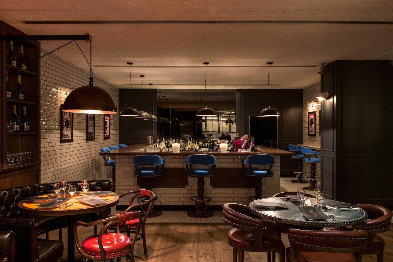 Bull & Bear Sydney Restaurant by Edge Design   Yellowtrace