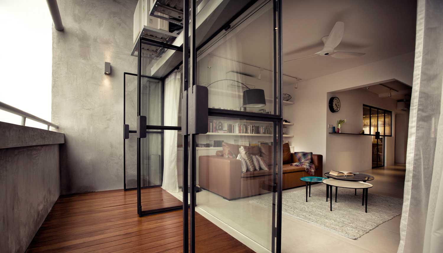 G Maisonette, Singapore by 0932 | Yellowtrace