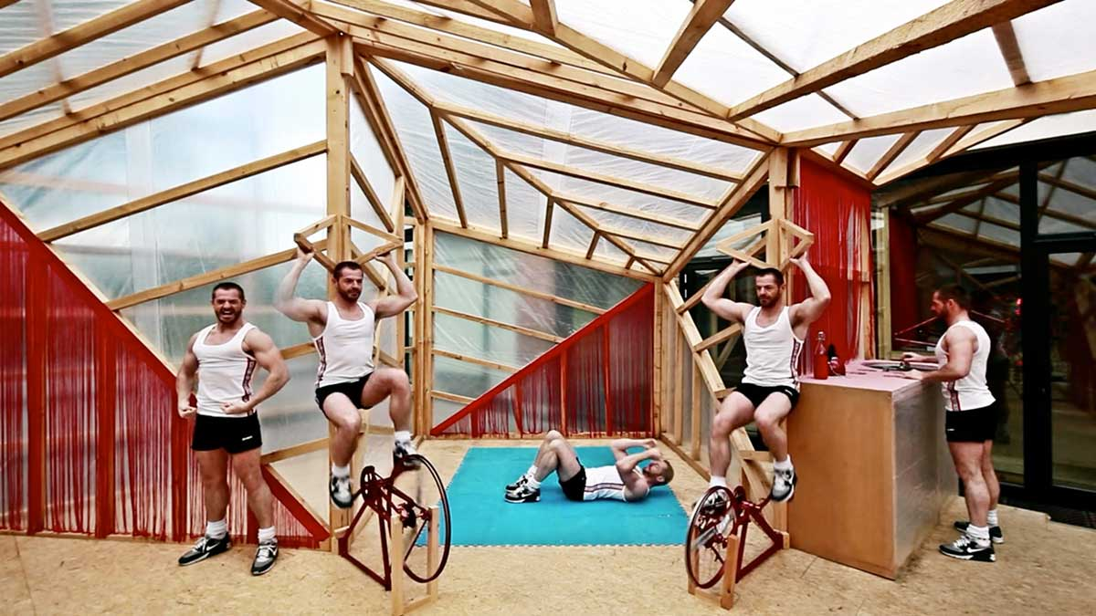 Video // Jane Fonda Kit House in Brussels by Elii Architects.