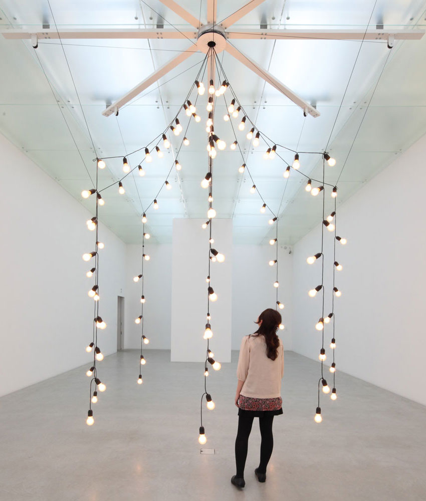 Light Installation by Jeppe Hein | Yellowtrace